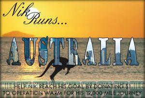 Nik in Australia